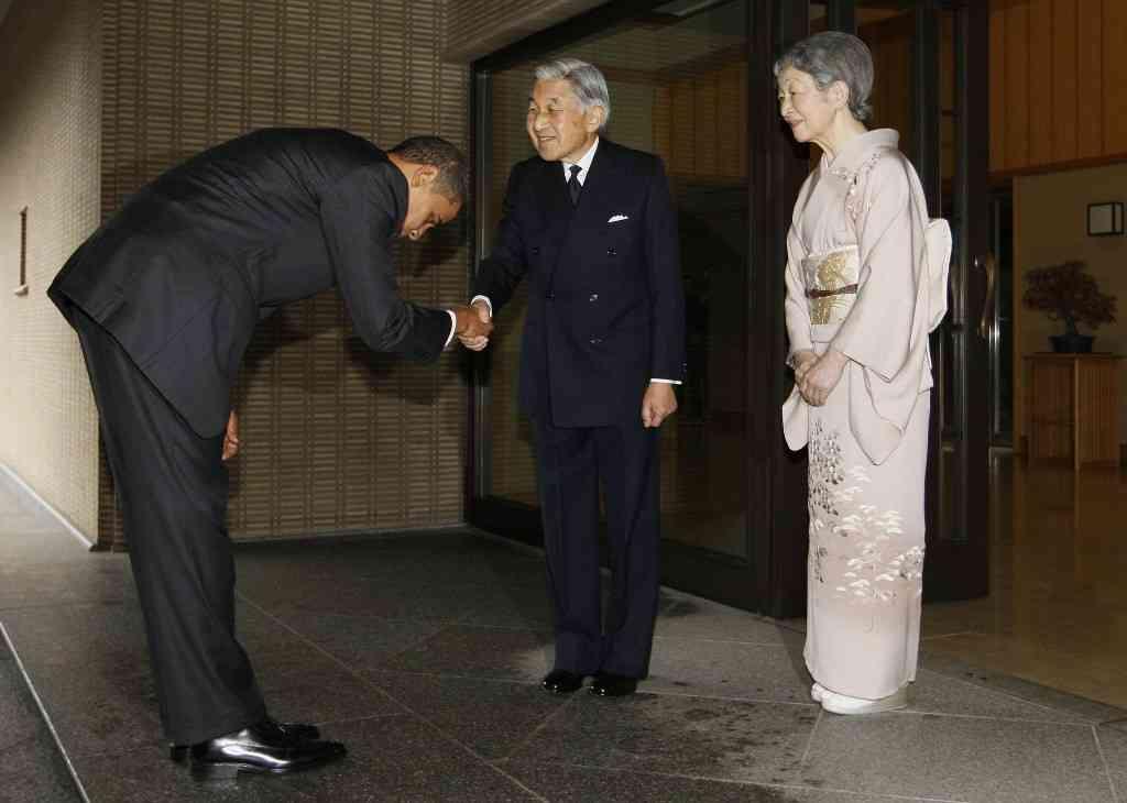 オバマ大統領が天皇陛下に深々と頭を下げた理由 | 雑学ネタ帳