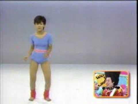 井森美幸 ホリプロオーディションの時のダンス。 - YouTube