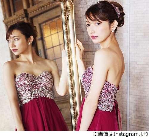 後藤真希の大胆露出ドレス姿に「めっちゃ綺麗」
