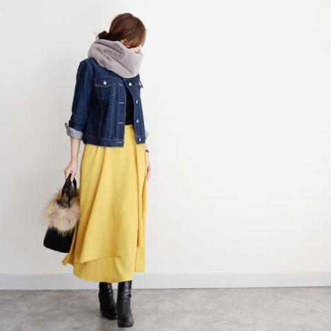 スカートのときの寒さ対策
