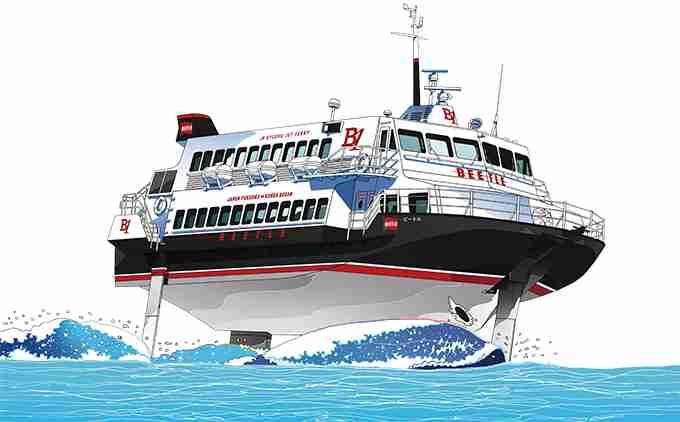 福岡から韓国・釜山に行くなら、高速船ビートルで!  –  特集  - ファンファン福岡