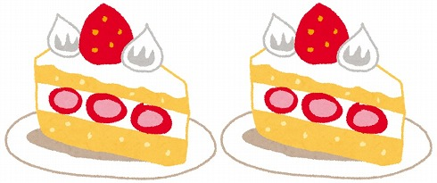ケーキの公平な分け方に絶賛 ジャンケンで勝った方が好きな大きさに分け、負けた方は…