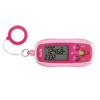 歩数計 3Dセンサー搭載歩数計[防犯ブザー付き] FB-736(ピンク): 一般用|タニタ