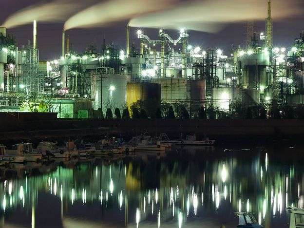 【癒しトピ】工場夜景の画像を貼って癒されるトピ