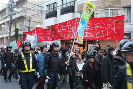 「天皇制いらない」反天連のデモに学生も憤慨「ばかみたい」 (2017年11月26日掲載) - ライブドアニュース