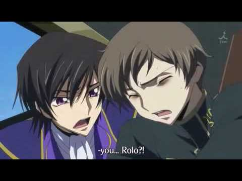 Code Geass - Rollo's Death - YouTube