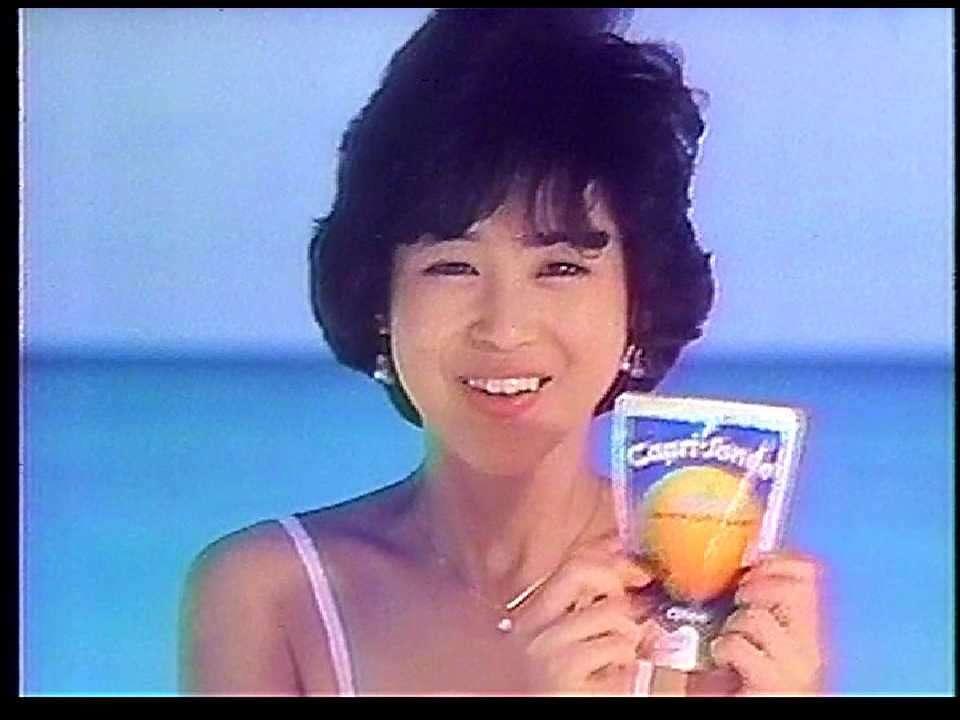 CM グリコ カプリソーネ 1982年 - YouTube