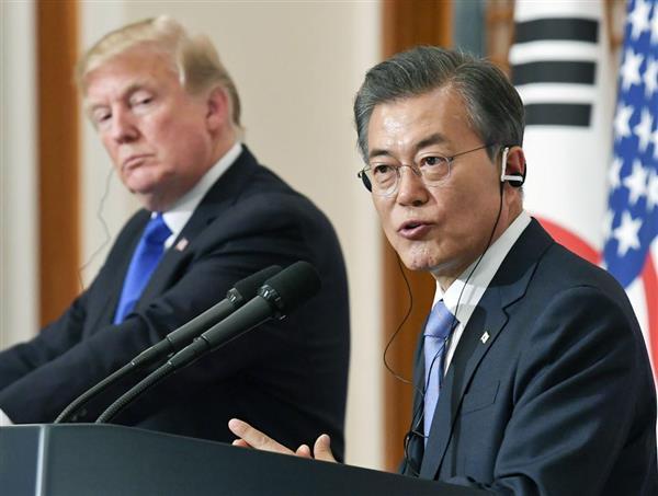 米WSJ紙、文在寅大統領を激烈批判「信頼できる友人ではない」韓国メディア大騒ぎ - 産経ニュース