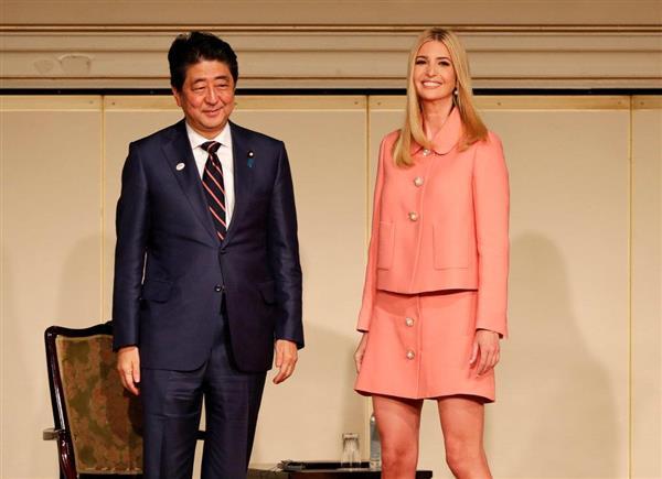 安倍首相、女性支援のイバンカ氏基金に57億円拠出を表明