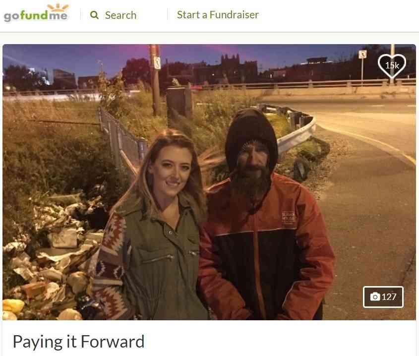 【海外発!Breaking News】2,200円でホームレスの男性に救われた女性、寄付金を募り恩返し(米) | Techinsight(テックインサイト)|海外セレブ、国内エンタメのオンリーワンをお届けするニュースサイト
