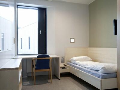 個室に薄型テレビや冷蔵庫、シャワーも完備した超ラグジュアリーなノルウェーの刑務所 - GIGAZINE