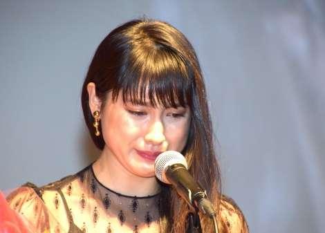 土屋太鳳、最優秀新進女優賞の受賞理由で感涙「でこぼこな心を包み込んでくれた」 | ORICON NEWS