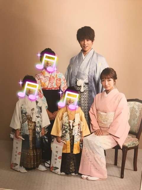 杉浦太陽「家族の宝物が、また一つ増えました」最後の七五三記念写真を公開