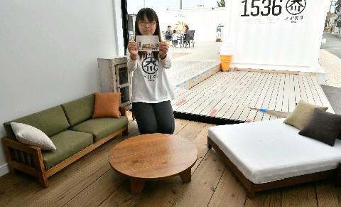 福岡県大川市「ネコ家具」、世界が注目 動画・CMアクセス殺到 東京新橋のアンテナショップで期間限定展示