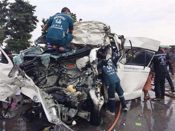 タイ中部アユタヤで交通事故、日本人観光客4人死亡 - 産経ニュース