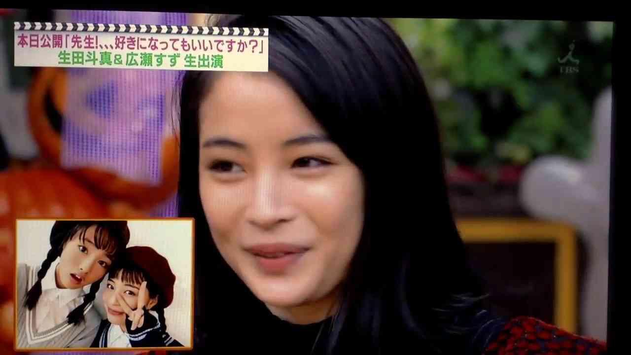 大友花恋の発言に、広瀬すず真顔www 「王様のブランチ」 - YouTube