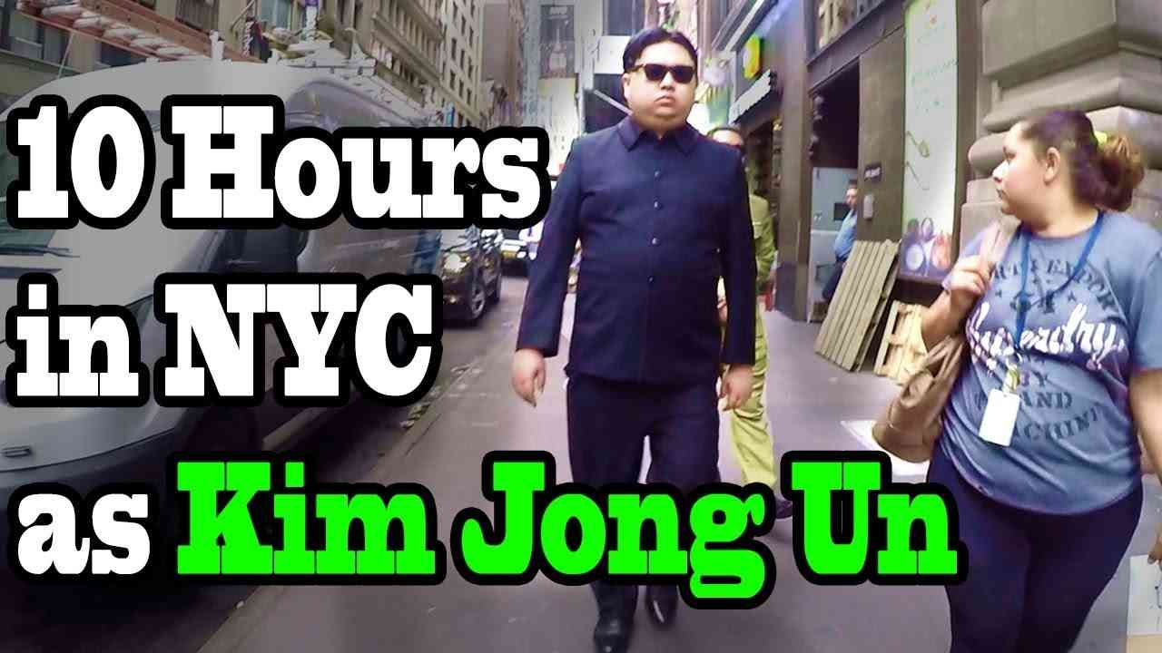 10 Hours of Walking in NYC as Kim Jong Un - YouTube