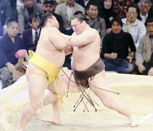 白鵬、2場所ぶり40度目V…最多記録を更新 : スポーツ : 読売新聞(YOMIURI ONLINE)