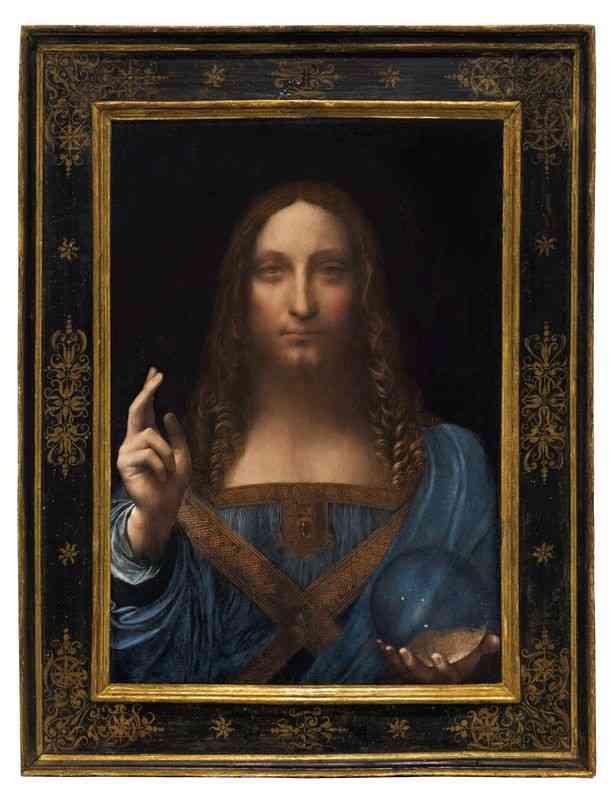 美術品で史上最高額!ダ・ヴィンチのキリスト画、508億円で落札