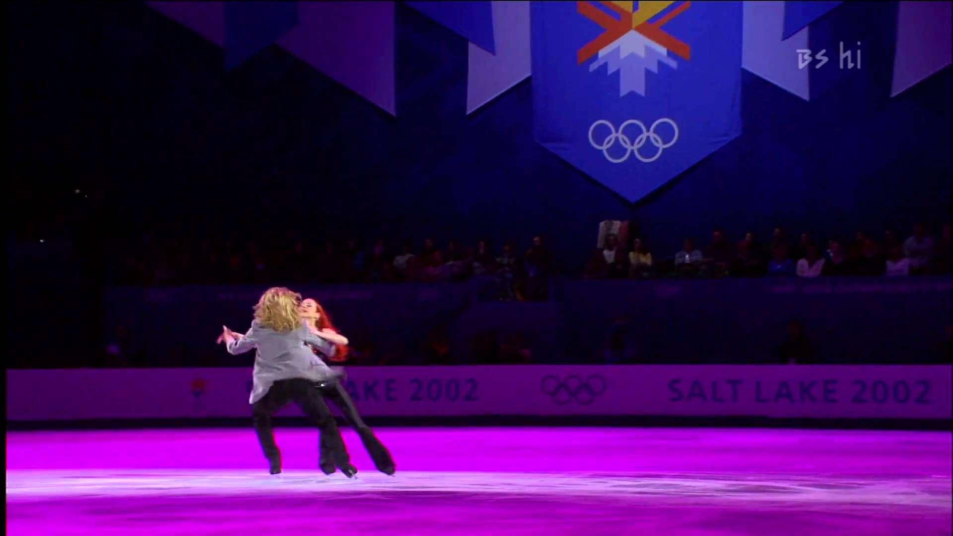 Marina Anissina - Gwendal Peizerat 2002 Olympic Ex HDTV - YouTube