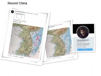 ハリウッド俳優が韓国で注目 世界地図の日本海を「東海」に書き換え - ライブドアニュース