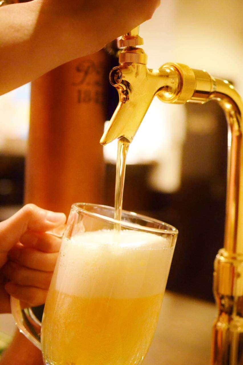 休みの最終日。飲もう!