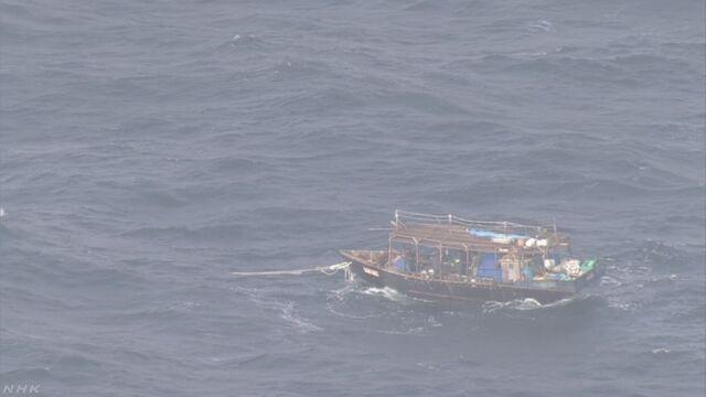 無人島の建物から家電製品なくなる 北朝鮮木造船との関連捜査 | NHKニュース