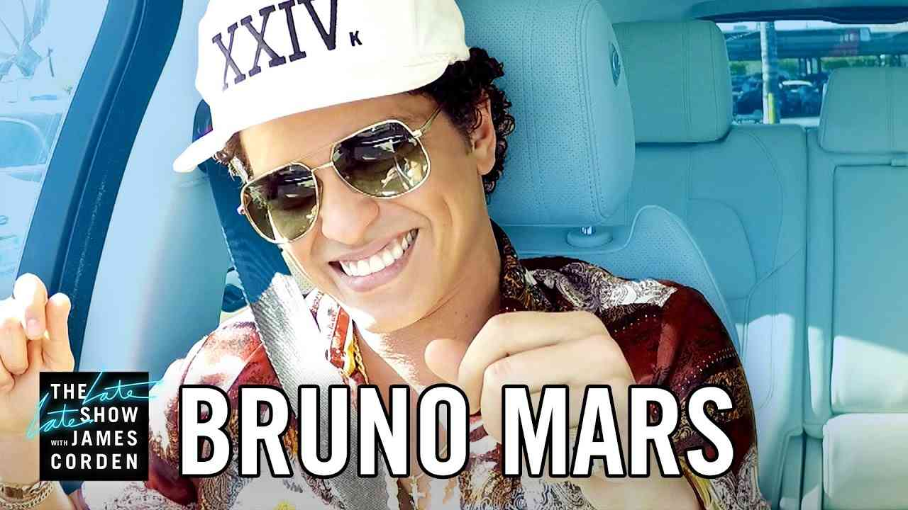 Bruno Mars Carpool Karaoke - YouTube