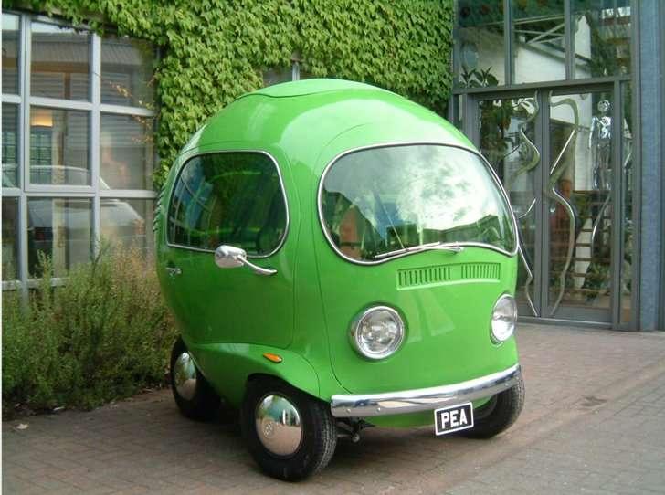 大注目されること間違いなし!!まるいフォルムの可愛い車w | 話題の画像プラス