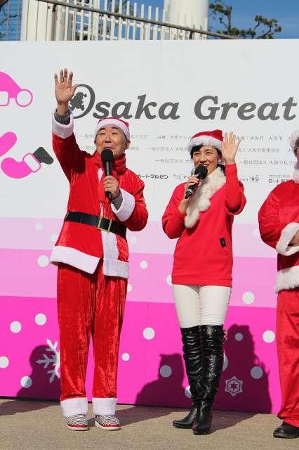 桂文枝、サンタの衣装で「いらっしゃーい!」 (スポーツ報知) - Yahoo!ニュース