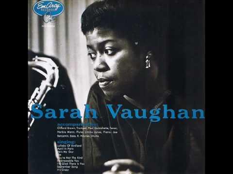 Sarah Vaughan - Lullaby Of Birdland (English subs) - YouTube