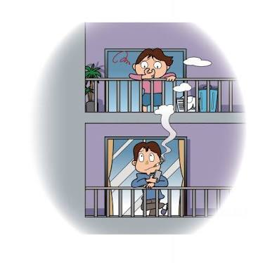 ベランダ喫煙対策