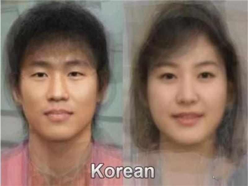 色々な「平均顔」が見たい