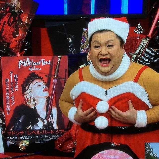 <画像>いろんな芸能人のクリスマスコスプレが集まるトピ