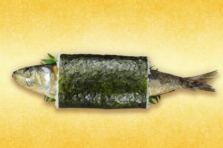くら寿司の恵方巻「まるごといわし巻」のインパクトが凄いと話題に