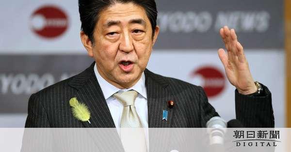 安倍首相「同年代に嫌われ悲しい。新聞愛読者層では」:朝日新聞デジタル