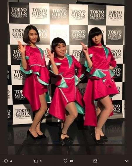"""キンタロー。""""Perfume""""をものまね TGC広島で本物に間違われ大歓声"""
