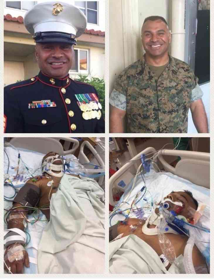 #1 Non Profit Crowdfunding Platform for our Everyday Local Heroes: U.S. Marine Hero, Master Sergeant Hector Trujillo