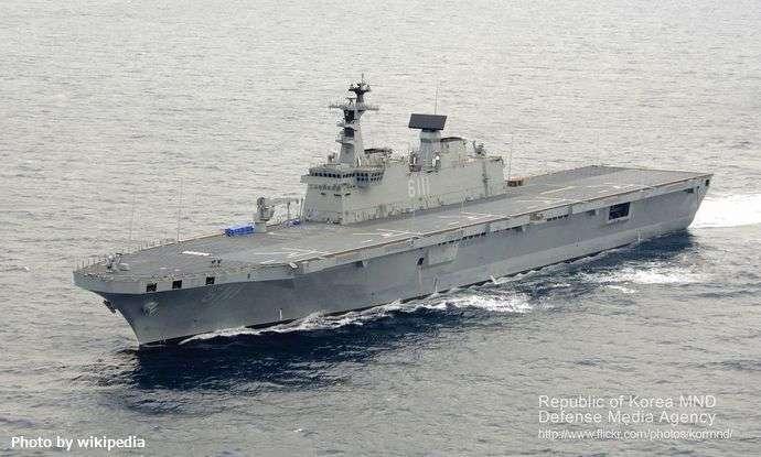 韓国は、F-35戦闘機の運用の為に「独島艦の空母化」を検討! : 軍事・ミリタリー速報☆彡