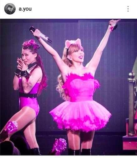 浜崎あゆみ、ピンク猫耳&舌ペロのステージ衣装写真公開で「お姫様なの?」「猫耳あゆ最強に可愛い」 (E-TALENTBANK) - Yahoo!ニュース
