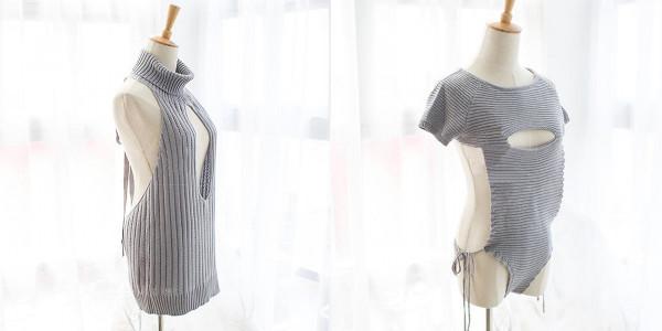 「童貞を殺すセーター」どこもかしこもパックリ開いた待望の新モデル - Peachy - ライブドアニュース