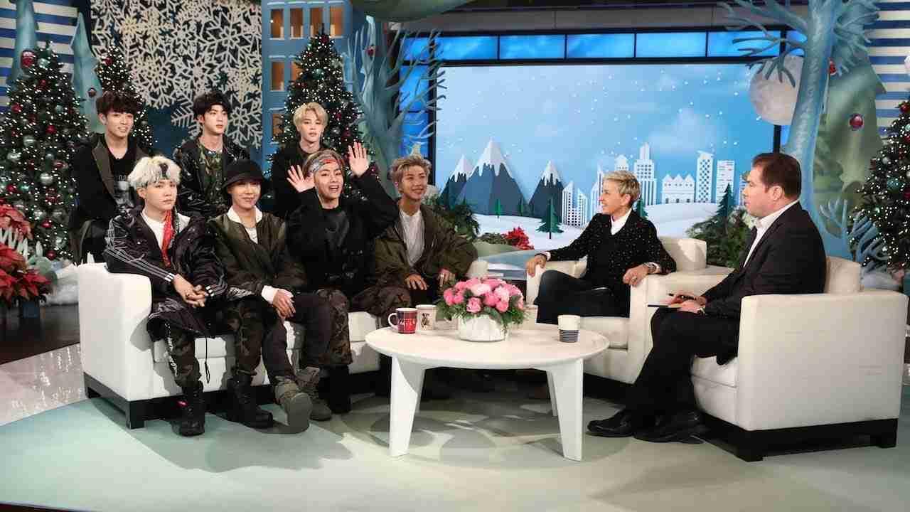 Ellen Makes 'Friends' with BTS! - YouTube
