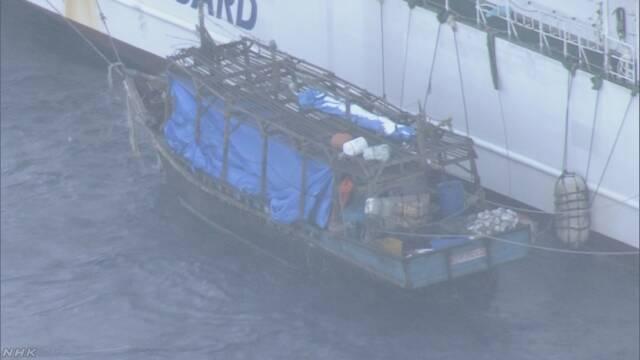 北朝鮮の木造船 逮捕の船長 先月16日に上陸と供述 | NHKニュース