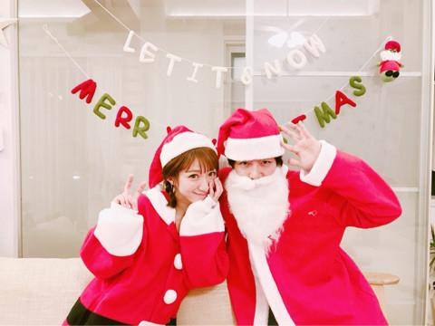 杉浦太陽 妻・辻希美とサンタコスで2ショット公開「みんなの笑顔が見られてよかった」 - Ameba News [アメーバニュース]