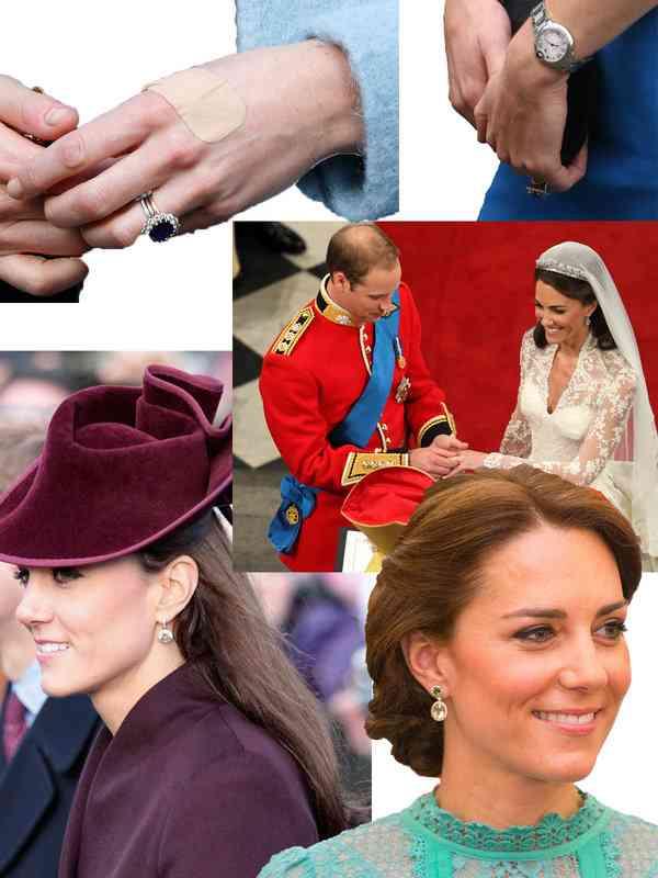 【ELLE】ウィリアム王子がキャサリン妃に贈ったジュエリーヒストリー&イイ話|エル・オンライン