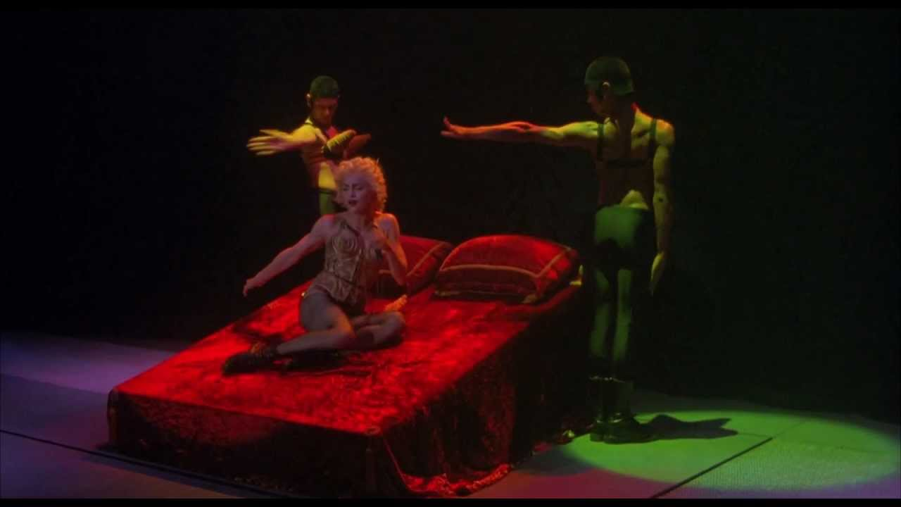"Madonna -""Like a virgin"" live ""Blond Ambition tour"" [Blu-ray] HD 1080p - YouTube"