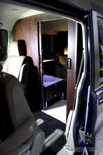 女性の現場勤務に配慮、トイレや休憩スペースなど装備した車を開発…NEXCO中日本グループ