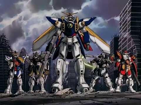 Mobile Suit Gundam Wing opening 1 - YouTube
