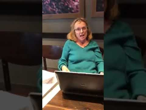 RACIST Woman Berates A Student For Speaking Korean In Starbucks - YouTube