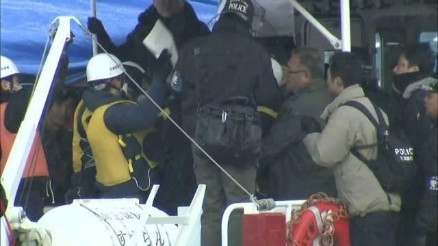 北朝鮮 乗組員3人を窃盗容疑で逮捕 逮捕時 抵抗し騒然と 北海道 (北海道ニュースUHB) - Yahoo!ニュース